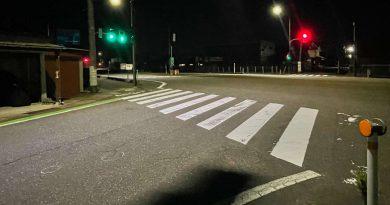 上越市佐内町の国道8号交差点で79歳女性はねられ死亡